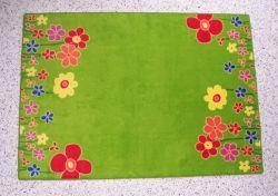Kinderteppich blumenwiese  Kinderteppich Blumenwiese von Teppicheule
